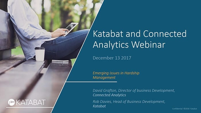 Katabat and Connected Analytics Webinar