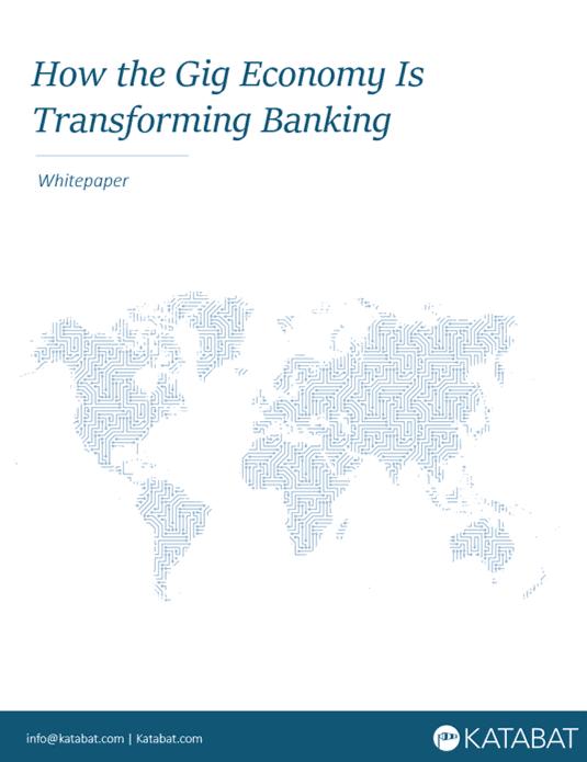 Katabat Gig Economy is Transforming Banking Whitepaper