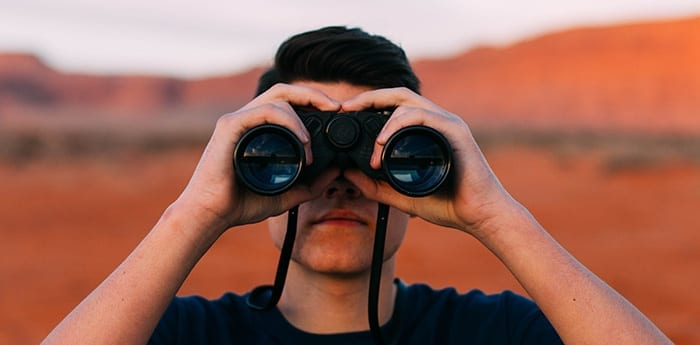 Binoculars Looking at Comprehensive Credit Reporting