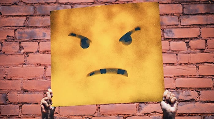 customer complaints frown