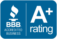 accredited business A+ rating logo