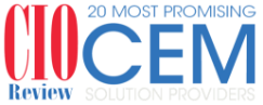 CIO review 20 most promising CEM soloution providers logo